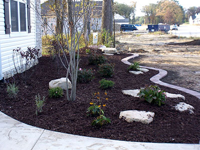 Mulch Installation Valparaiso Crown Point Winfield Saint John